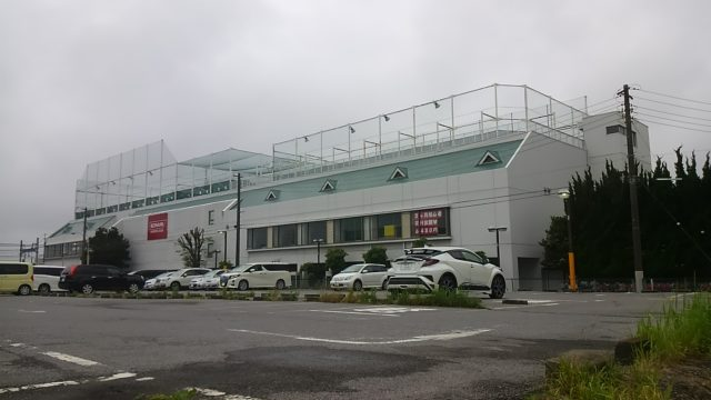 津田沼駅周辺のおすすめジムであるコナミスポーツクラブ津田沼の外観