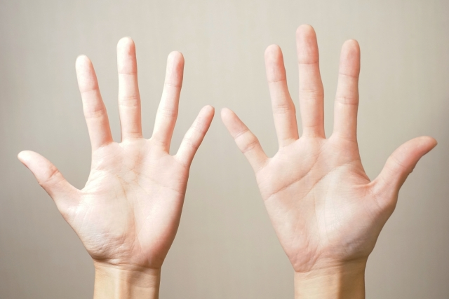 BTS 握手会レポートの手の確認