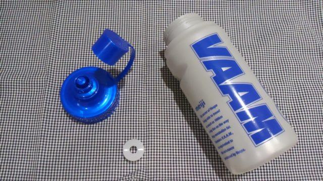 スクイズボトルの洗い方の手順の分解