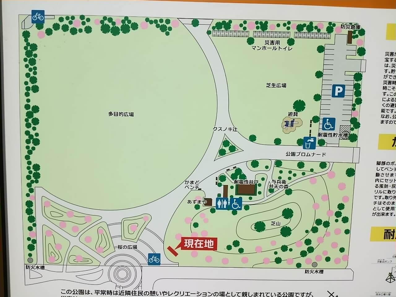 谷津奏の杜公園の駐車場・アクセスは?