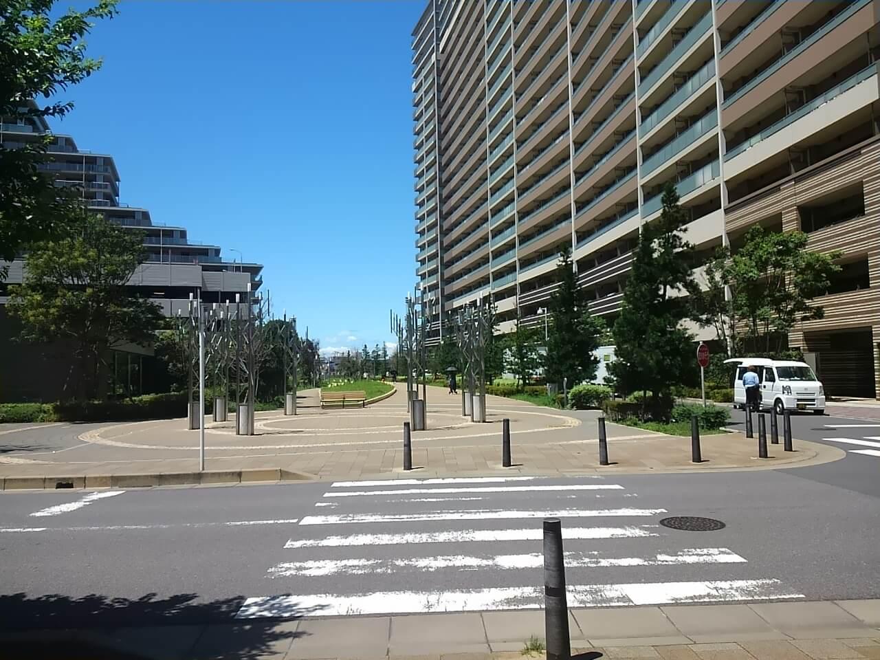 谷津奏の杜公園の津田沼駅からのアクセス