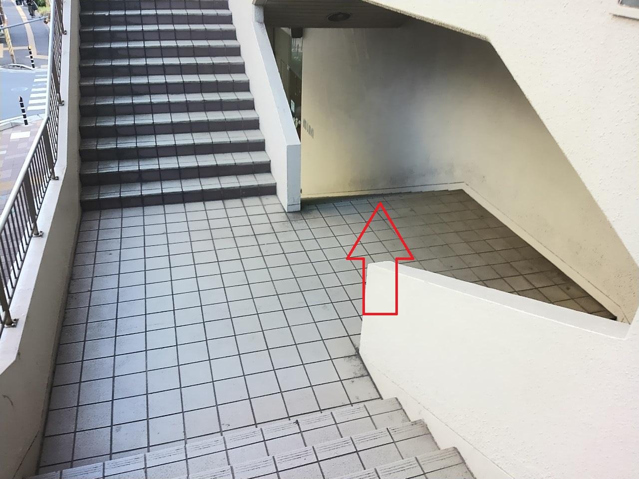 津田沼1丁目公園の場所の説明1