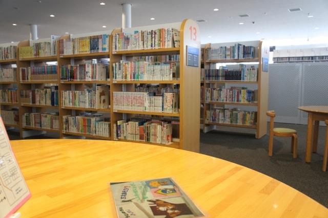 谷津図書館に自習室はある?