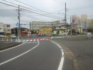 JR津田沼から京成津田沼の徒歩