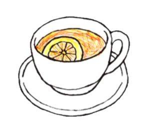 紅茶とライム