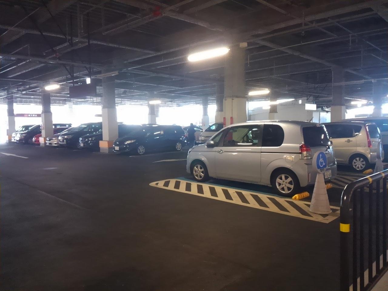 フォルテ奏の杜2階駐車場