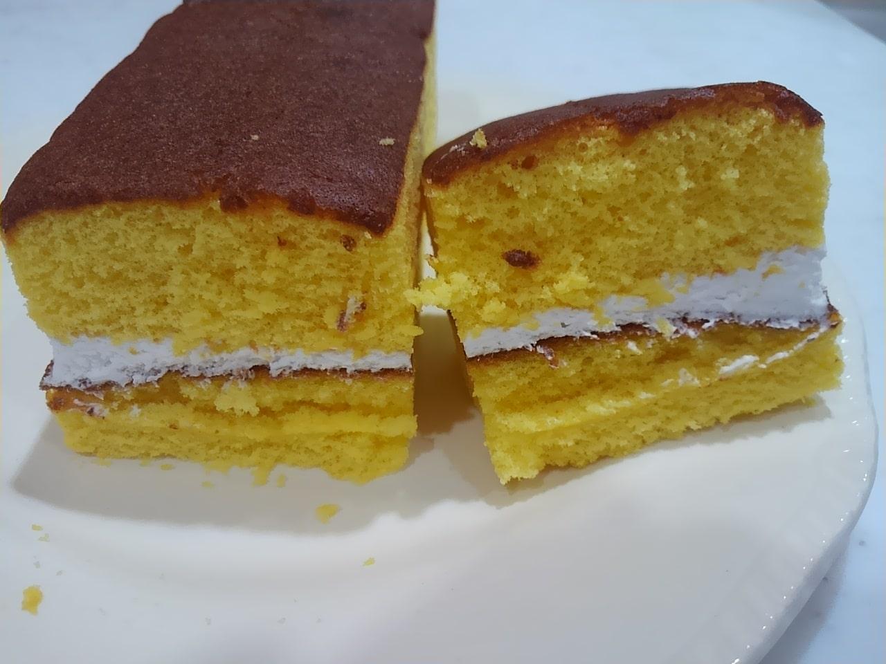 ローソンのカステラケーキの感想
