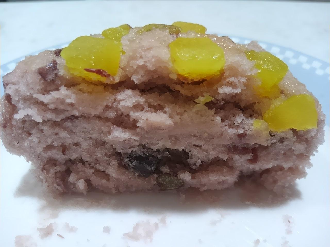 ローソンのあずきとお芋の蒸しぱんの感想・口コミ・カロリー・値段