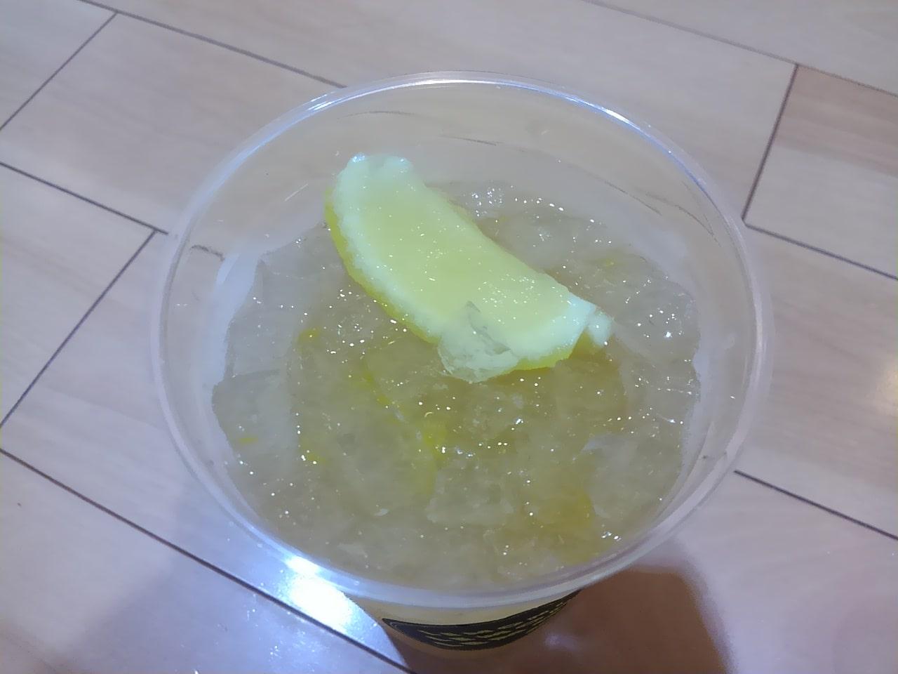 モスバーガーのまるごと!レモンのジンジャーエールの感想・口コミ・カロリー・値段
